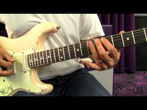 Hendrix Style Rhythm Lesson - Blues Rock Guitar Lessons