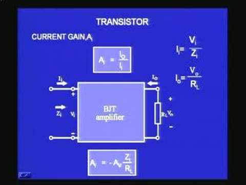 Lecture - 13 Basic Characteristic of an Amplifer