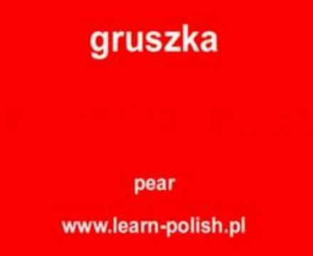 mini leçon de polonais. prononcation