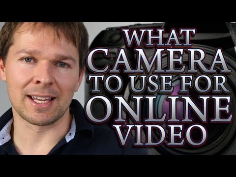 What Camera To Use For Online Video... And Other Bits Of Essential Equipment