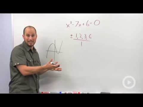 Algebra 2 - Using Synthetic Division to Solve an Equation