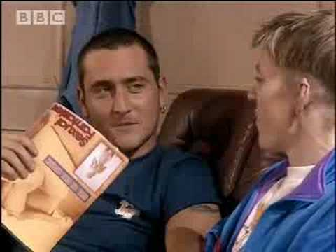 Flirting lesson - Two Pints of Lager - BBC comedy