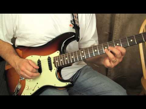 Blues Guitar Lessons - Blues Turnaround in the style of Eric Clapton