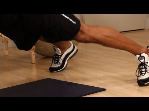 How to Do a Wide Stance Push Up   Home Chest Workout for Men