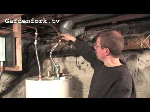 How to ( or how not to ) Install a Hot Water Heater