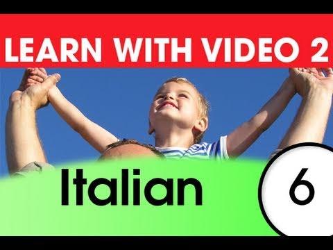 Learn Italian with Video - Top 20 Italian Verbs 4
