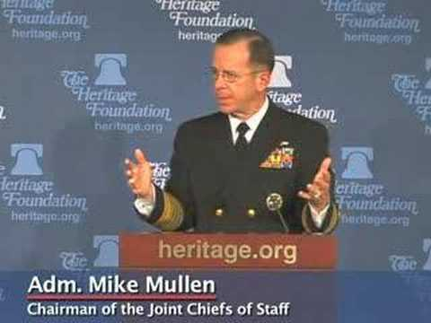 Adm. Mike Mullen on Building Military's Global Capabilities