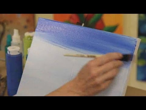 How to Paint with Acrylic Paint: Controlling Opacity and Brightness