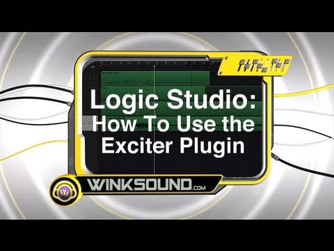 Logic Studio: How To Use the Exciter Plugin