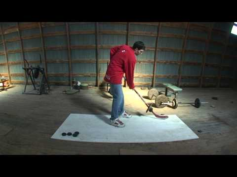 Weighted Hockey Stick Drills - Pavel Datsyuk Pro Tip
