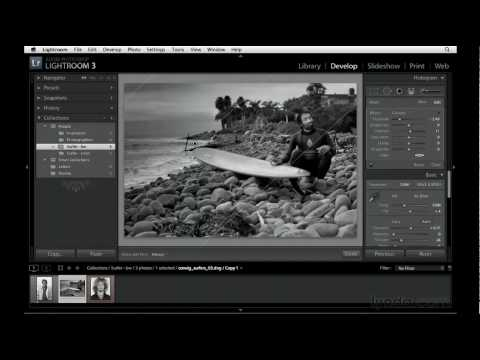 Lightroom: How to use the Graduated filter | lynda.com tutorial