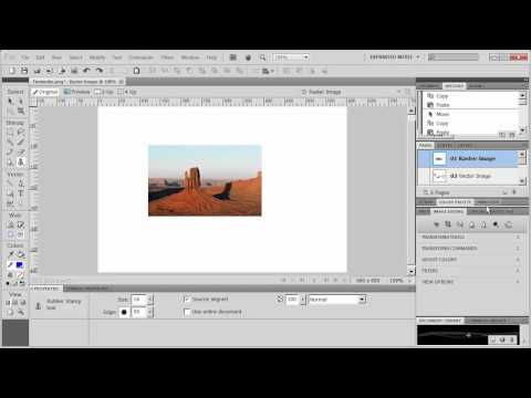 Introduction to Adobe Fireworks CS5 - Part 2 - The main window
