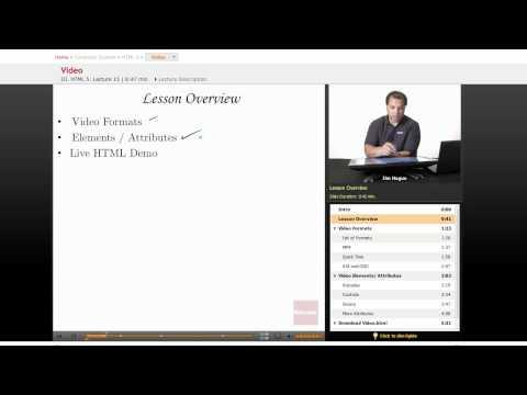 HTML 5: Video