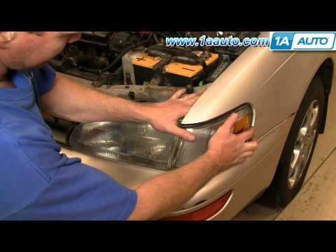 How To Install Replace Side Marker Light Toyota Corolla 94-97 1AAuto.com