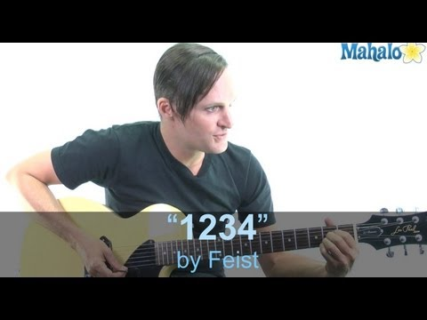 "How to Play ""1234"" by Feist on Guitar"