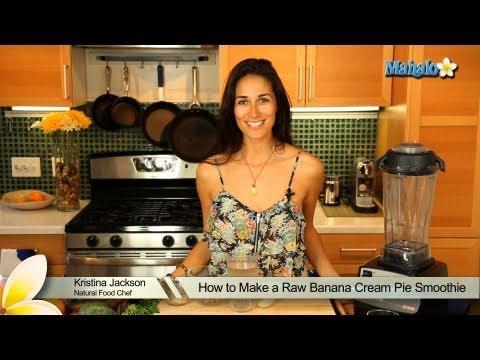 How to Make a Raw Banana Cream Pie Smoothie