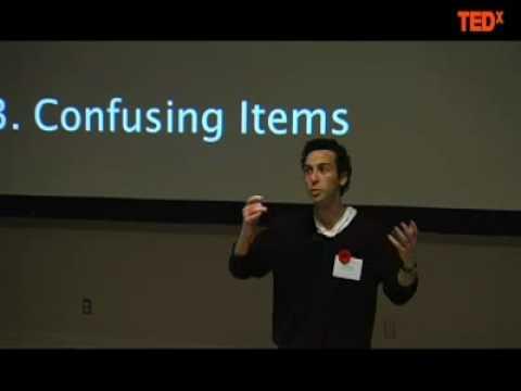 TEDxMcGill - Daniel Shiner - 11/05/09