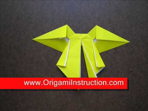 How to Fold Origami Bow Tie - OrigamiInstruction.com