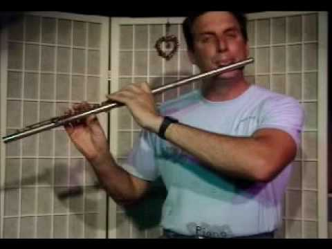 Flute Lesson: How to play a F Minor Chord with Arpegio