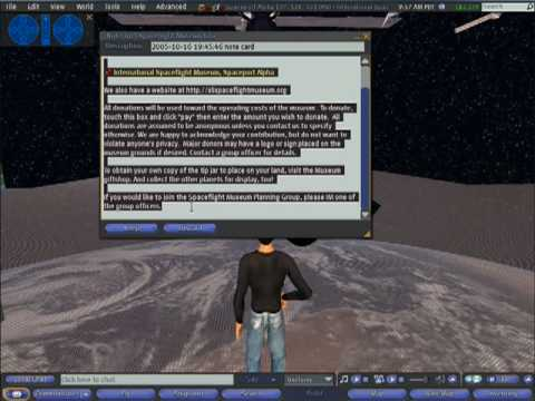 Second Life: Week 1 Skills Demo