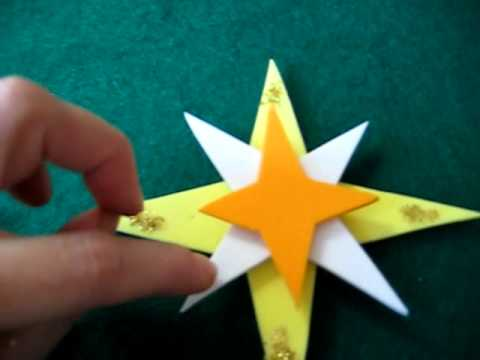 Christmas.Foam pop out stars