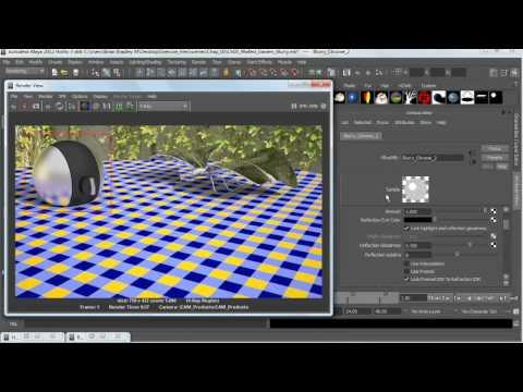 V-Ray 2.0: How to blur chrome reflection   lynda.com tutorial