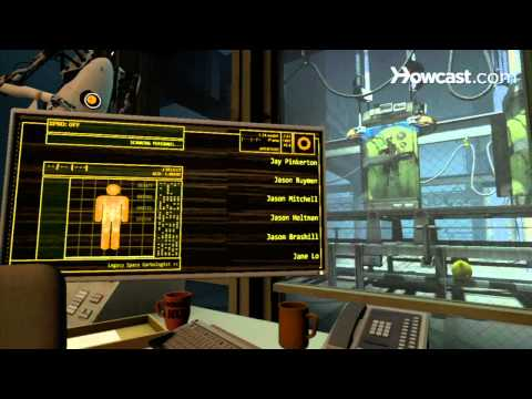 Portal 2 Co-op Walkthrough / Course 5 - Part 9 - Co-op Ending and Credits