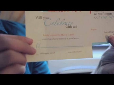 Wedding Invitations: How to Word RSVP Wedding Cards