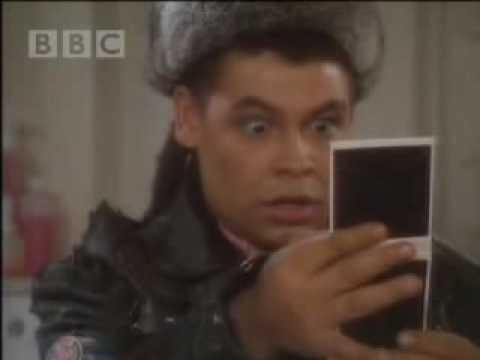 Kryten's double polaroid - Red Dwarf - BBC comedy
