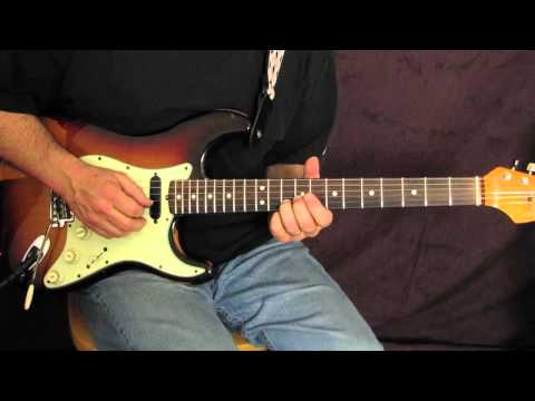 Country Guitar Lessons - Country guitar licks - Fender pedal steele licks