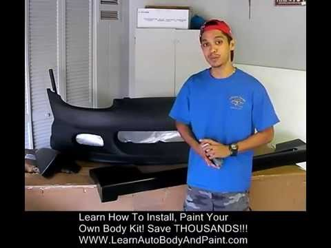 How To Install Body Kit - Body Kit Install