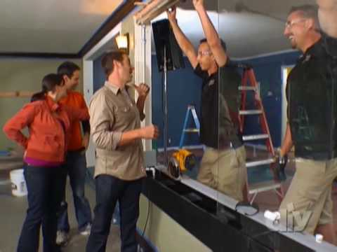 Window Waterfall Family Room-DIY
