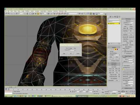 Rigging wow characters using 3ds MAX Part 04