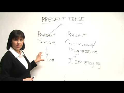 English Grammar - Present Simple & Present Progressive