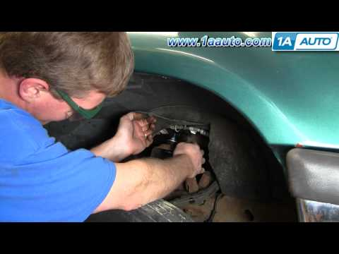 How To Install Replace Front Shock Absorber Ford Explorer Ranger Mountaineer 95-05 1AAuto.com