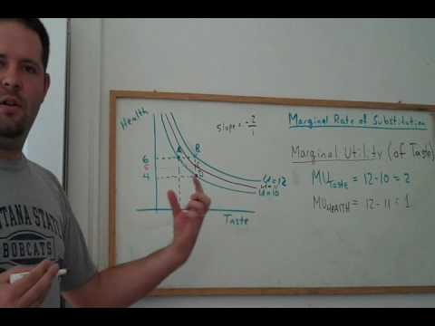 6. Marginal Rate of Substitution and Marginal Utility