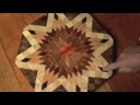 Robin Tucker of Wood Mosaics: hackberry lazy susan