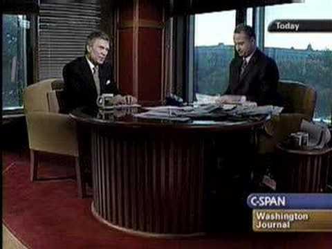 CAP's Sen Tom Daschle on CSPAN Washington Journal Part 5