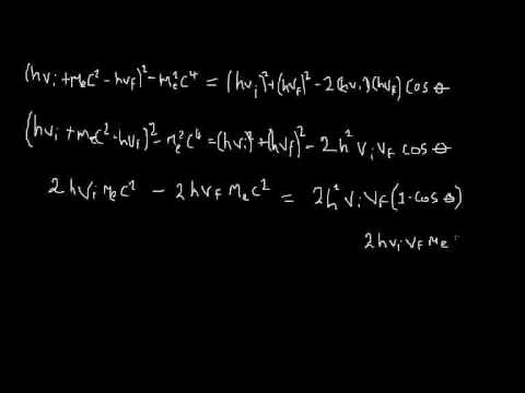 Quantum Mechanics 004 : derivation of compton scattering part 2