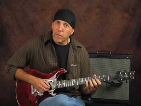 Shred guitar fast legato rock licks lesson ala Joe Satriani
