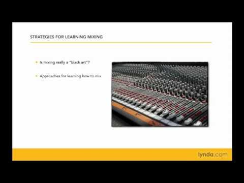 Mixing and mastering: Best practices | lynda.com tutorial