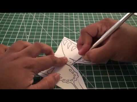 Kirigami Pop - Up Greeting Card: Butterfly - TCGames [HD]