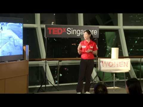 TEDxSingapore - Esther Tan - All Women's Everest Team