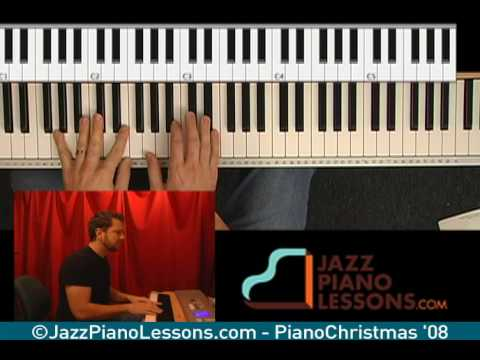 Learn Jazz & Gospel Christmas Piano Songs pt3