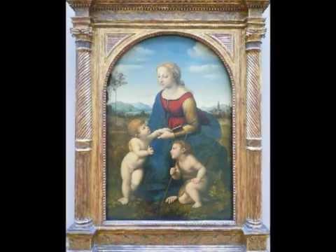 Raphael (Italian), La belle jardinière (also, Madonna and Child with Saint John the Baptist), 1507
