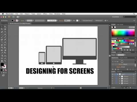 Illustrator for Web Design: Designing for screens | lynda.com overview