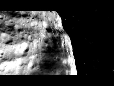 NASA's Journey Above Vesta