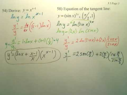 5.5c2 Bases Other than e and Applications - Calculus