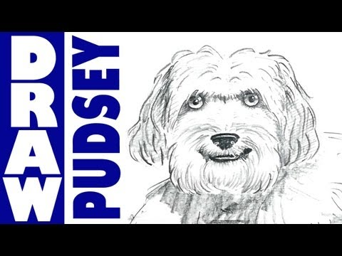 How to draw Pudsey from Britain's Got Talent!