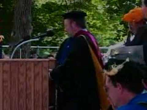 Bob Steele receives honorary degree from DePauw
